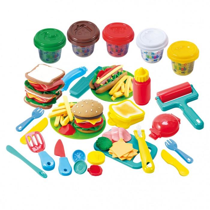 Playgo Набор с пластилином Гамбургер
