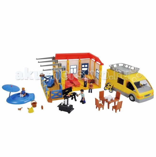 Simba Кукольный домик Superplay Дачный участок