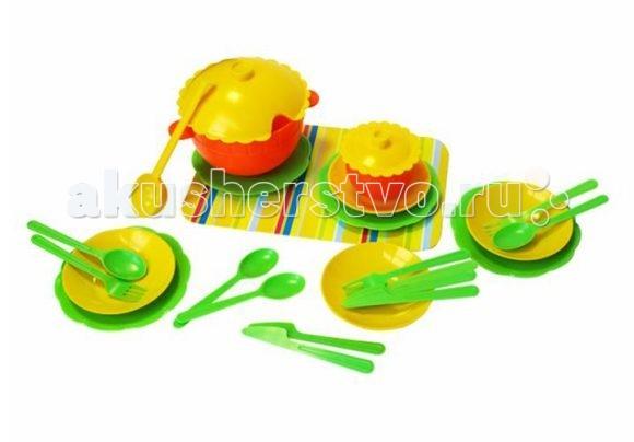 Ролевые игры Игрушкин Набор посуды набор шпателей для выравнивания archimedes stabi 4 шт
