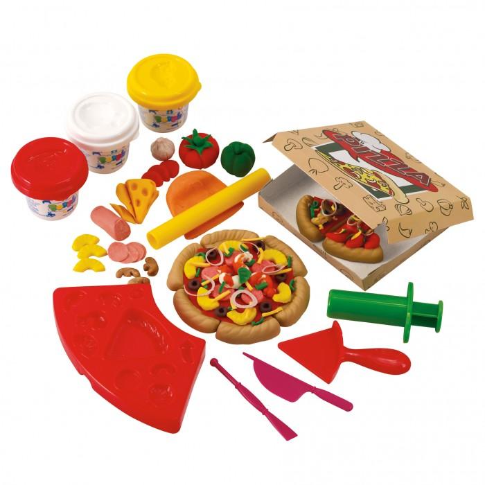 Купить Пластилин, Playgo Набор с пластилином Пиццерия
