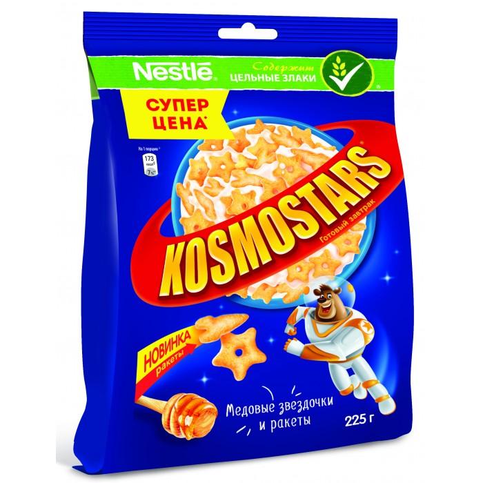 Готовые завтраки, мюсли и хлопья Kosmostars Готовый завтрак Медовые звездочки и луны 225 г недорого