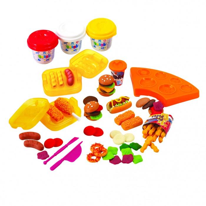 Купить Пластилин, Playgo Набор с пластилином Закусочная