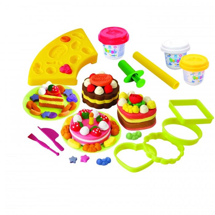 Купить Пластилин, Playgo Набор с пластилином Пирожные