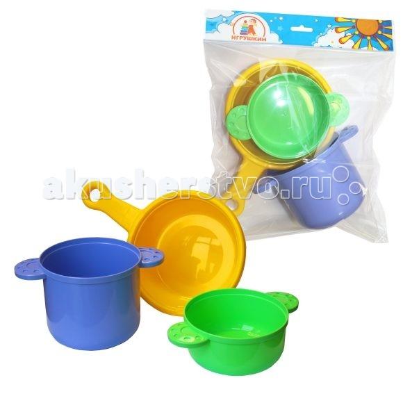 Ролевые игры Игрушкин Посуда для повара ролевые игры alex набор кухонной посуды из нержавеющей стали все для повара