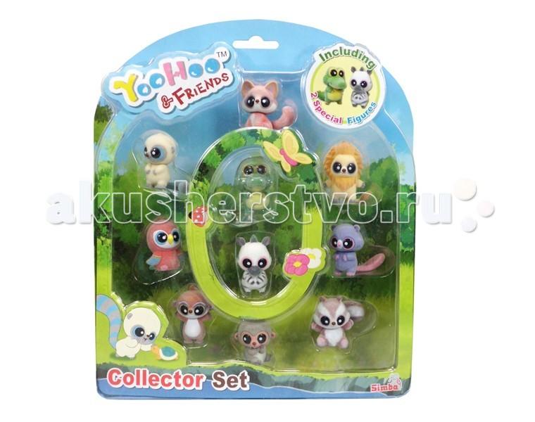 Игровые фигурки Simba YooHoo&Friends набор 10 шт. домик грибок simba yoohoo