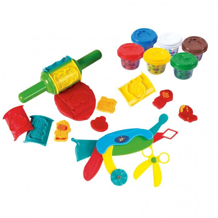 Купить Пластилин, Playgo Набор с пластилином с валиком и инструментами
