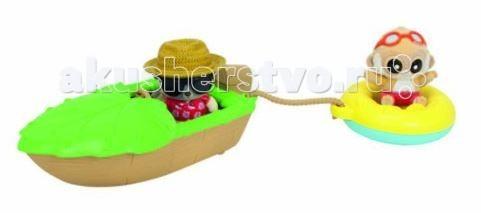 Игровые наборы Simba YooHoo&Friends Beach Лодка игровые наборы tomy игровой набор приключения трактора джонни и лошади на ферме
