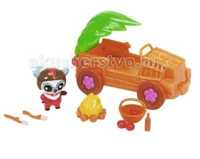 Игровые наборы Simba YooHoo&Friends Сафари Джип игровые наборы tomy игровой набор приключения трактора джонни и лошади на ферме