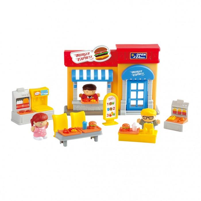 Купить Игровые наборы, Playgo Игровой набор Кафе 16 предметов