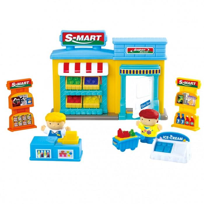 Купить Игровые наборы, Playgo Игровой набор Супермаркет 14 предметов