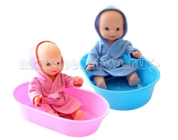 Куклы и одежда для кукол Игрушкин Пупс в ванночке игрушкин пупс 22 см
