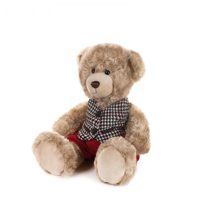 Мягкая игрушка Maxitoys Luxury Мишка Ричард в клетчатой жилетке и красных штанишках 20 см фото