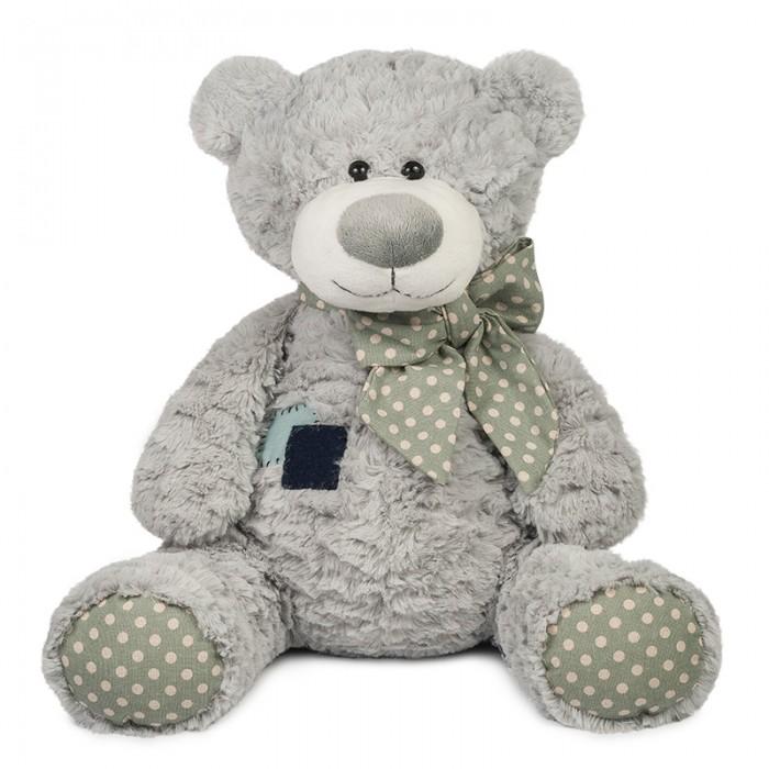Мягкая игрушка Maxitoys Luxury Мишка Тео с заплаткой 35 см
