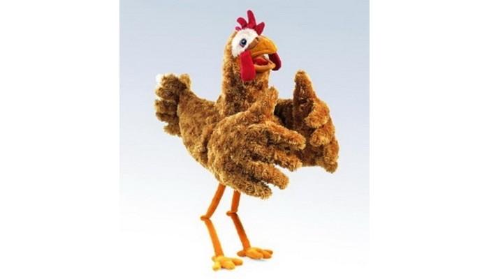 Купить Ролевые игры, Folkmanis Мягкая игрушка на руку Курица 56 см