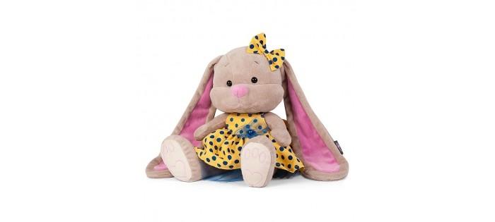 Мягкая игрушка Jack&Lin Зайка в желтом платье 25 см