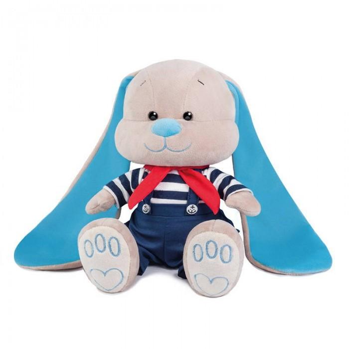Купить Мягкие игрушки, Мягкая игрушка Jack&Lin Зайчик морячок в синих штанишках 25 см