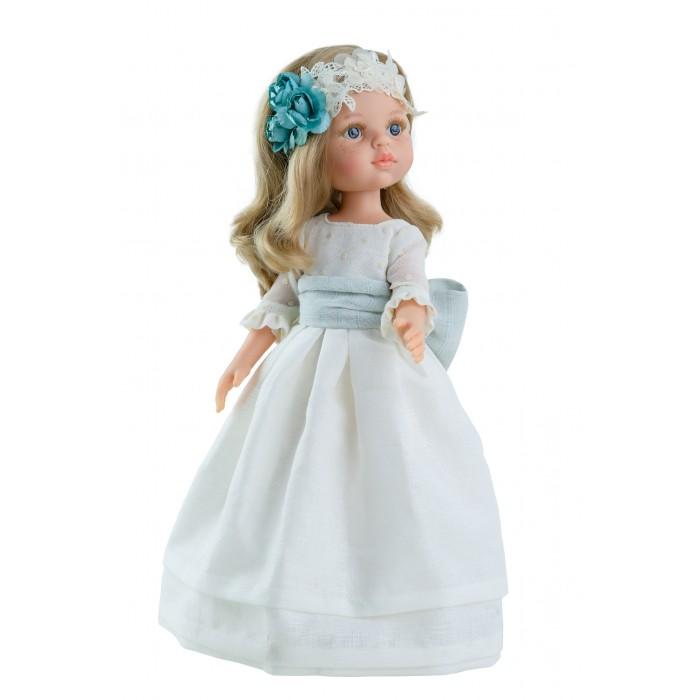 Куклы и одежда для кукол Paola Reina Кукла Карла причастие 32 см куклы и одежда для кукол paola reina кукла луис причастие 32 см