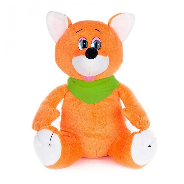 Мягкие игрушки Maxi Play Лисенок шалунишка озвученный 20 см игрушка мягкая maxi play ежик колян с корзинкой яблок 18см озвученный mp hh r8935e