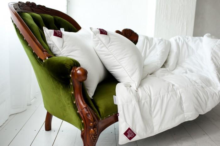 Подушки для малыша German Grass Подушка средняя Non-Allergenic Premium Grass 50х68 см подушки легкие сны подушка лель средняя 70х70