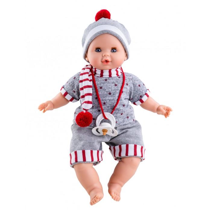 Куклы и одежда для кукол Paola Reina Кукла Алекс озвученная 36 см
