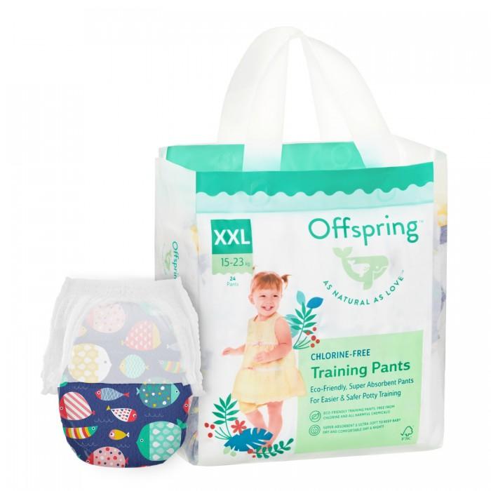 Offspring Подгузники-трусики Рыбки XXL (15-23 кг) 24 шт.