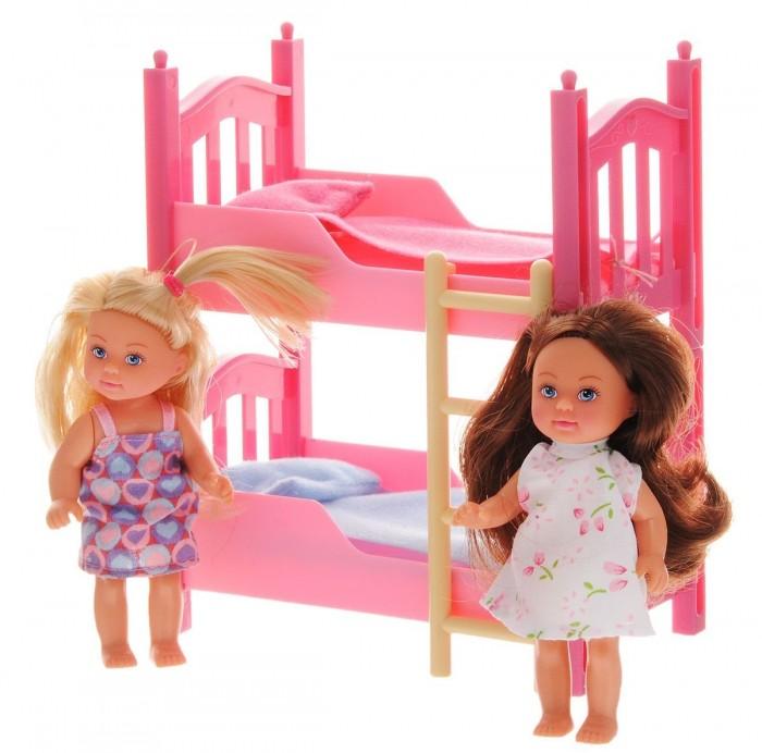 Куклы и одежда для кукол Simba Кукла Еви в спальной комнате куклы и одежда для кукол simba кукла еви со стильной собачкой 12 cм