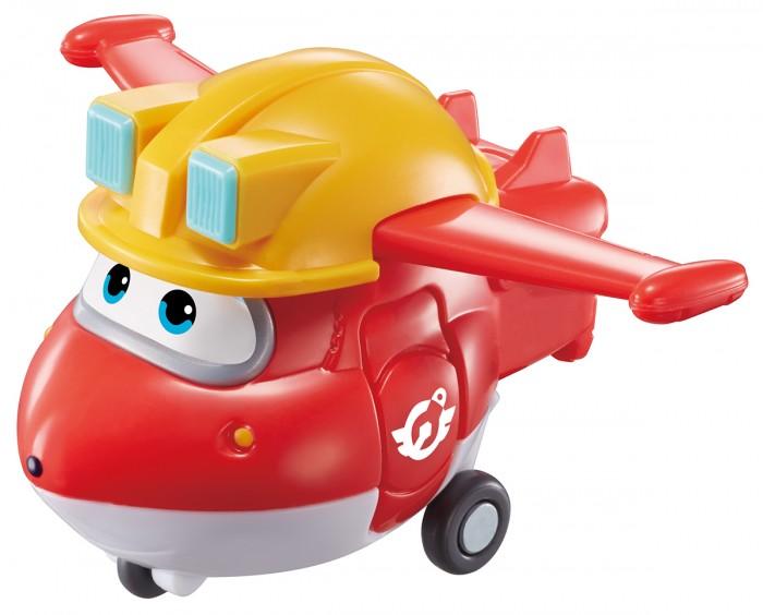 Вертолеты и самолеты Super Wings Мини-трансформер Джетт строитель
