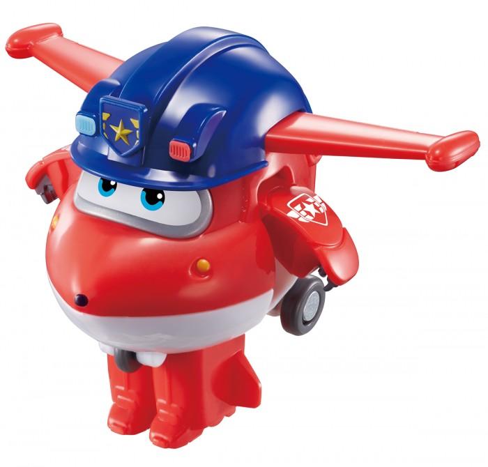 Super Wings Мини-трансформер Джетт полицейский