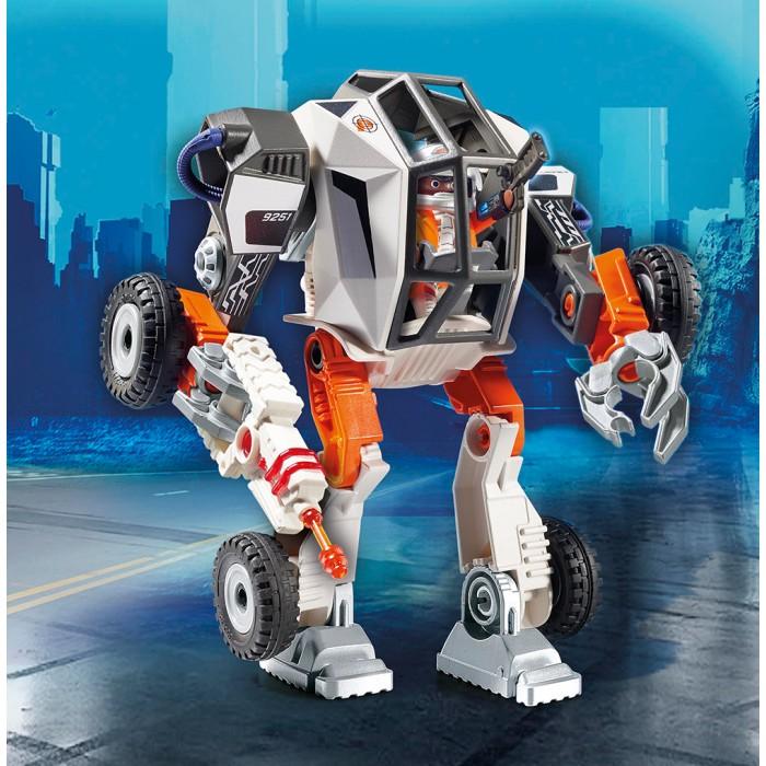 Конструктор Playmobil Суперагенты Робот агента T.E.C. c функцией трансформера