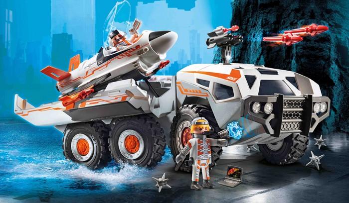 Конструктор Playmobil Суперагенты Боевой грузовик команды шпионов