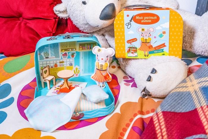 Мой уютный домик Игровой набор для детского творчества Мышка