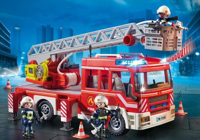 Купить Конструкторы, Конструктор Playmobil Пожарная машина с лестницей