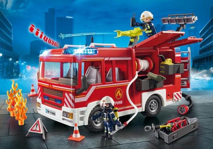 Купить Конструкторы, Конструктор Playmobil Пожарная машина с водометом