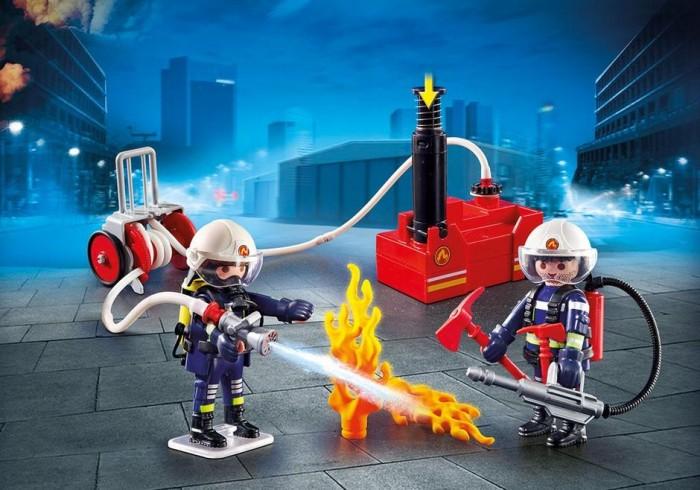 Конструктор Playmobil Пожарные с водяным насосом