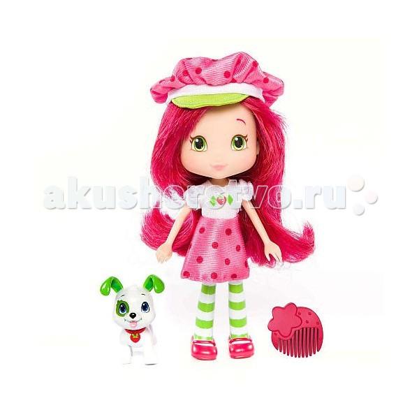 Куклы и одежда для кукол Strawberry Shortcake Кукла Земляничка 15 см с питомцем strawberry shortcake strawberry shortcake 12269 шарлотта земляничка кукла малинка с питомцем 15 см