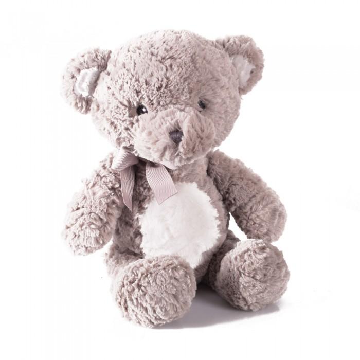 Картинка для Мягкая игрушка Gulliver Мишка Бублик серый 23 см