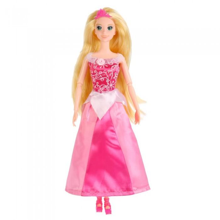 Куклы и одежда для кукол Карапуз Кукла София принцесса в розовом платье с аксессуарами 29 см