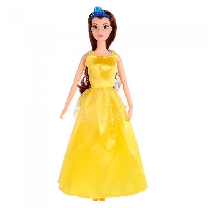 Куклы и одежда для кукол Карапуз Кукла София принцесса в желтом платье с аксессуарами 29 см