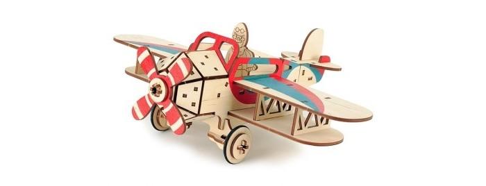 Деревянная игрушка Woody Самолет Крутой Вираж.