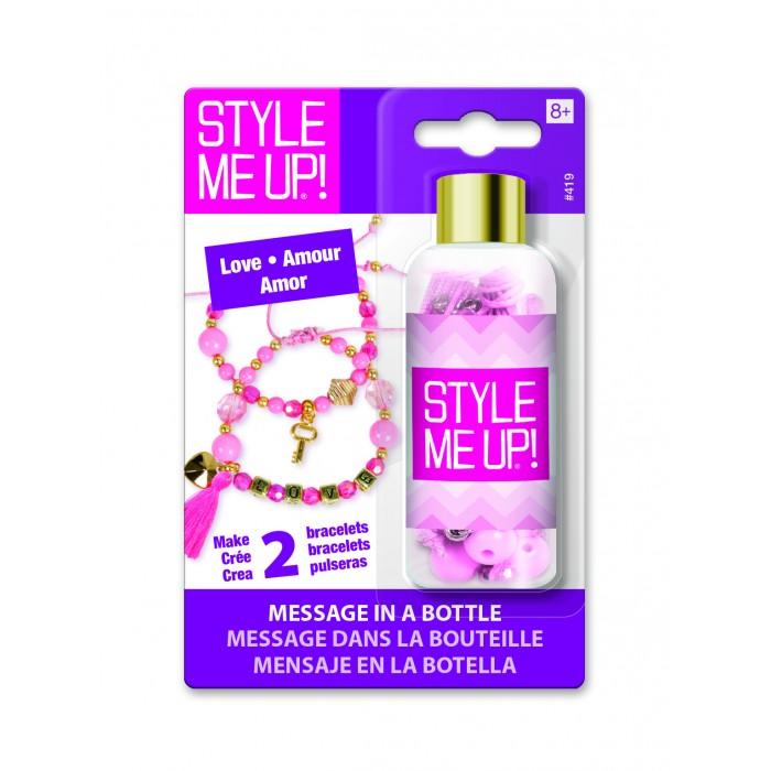Наборы для создания украшений Style Me Up Набор для создания браслета Послание в бутылке Любовь игровой набор карусель для создания украшений из бусинок lalaloopsy