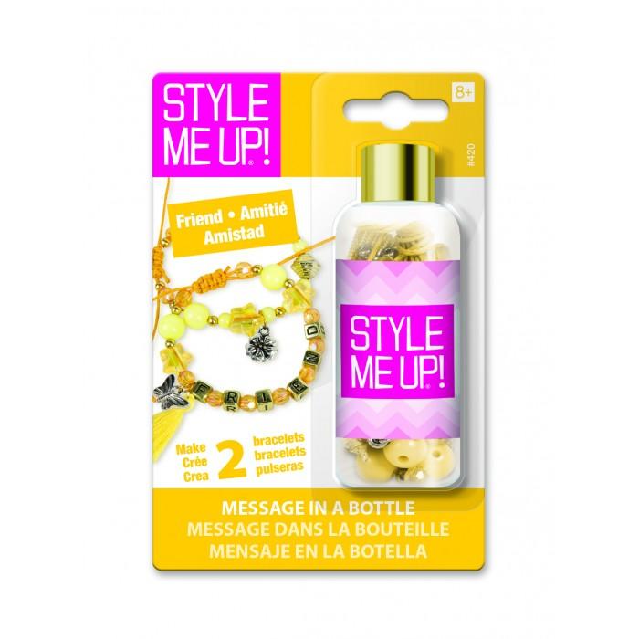 Купить Style Me Up Набор для создания браслета Послание в бутылке Дружба в интернет магазине. Цены, фото, описания, характеристики, отзывы, обзоры