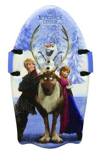 Зимние товары , Ледянки Disney Холодное сердце 92 см с плотными ручками арт: 67964 -  Ледянки