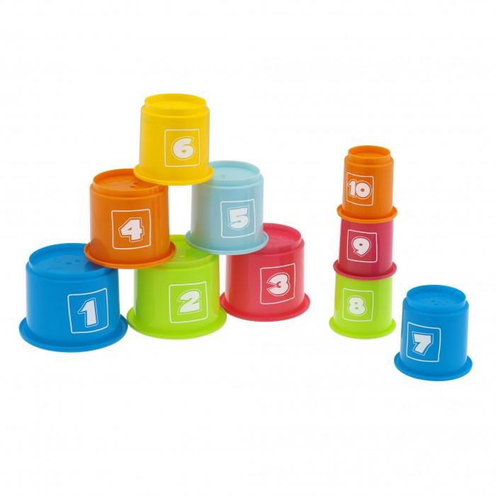 Развивающая игрушка Chicco Занимательная пирамидка с цифрами