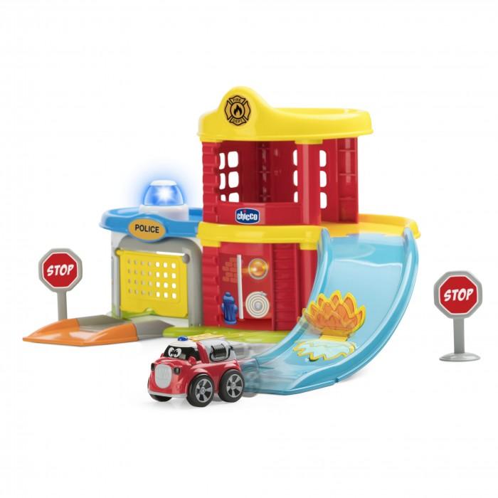 Машины Chicco Игровой набор Пожарная и полицейская станция игровой набор hasbro город пожарная станция b3415