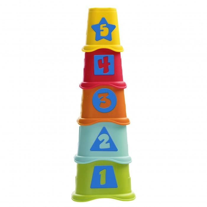 Купить Развивающие игрушки, Развивающая игрушка Chicco Пирамидка Stacking Cups