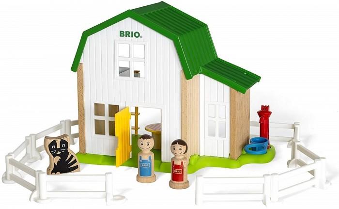 Деревянная игрушка Brio Набор Мой родной дом Загородный дом