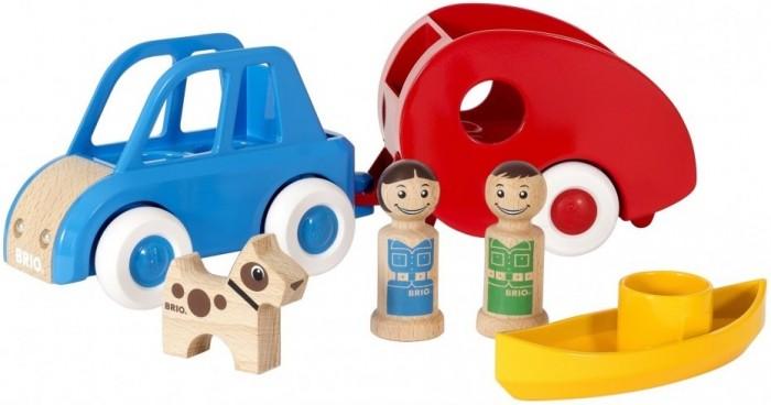 Деревянная игрушка Brio Набор Мой родной дом Кэмпинг