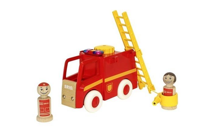 Деревянная игрушка Brio Набор Мой родной дом Пожарные