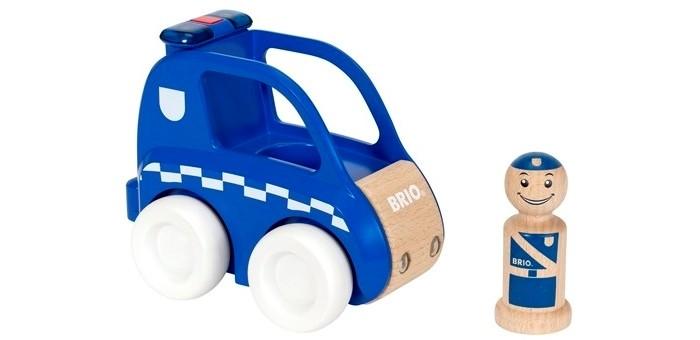 Деревянная игрушка Brio Набор Мой родной дом Полицейская машина