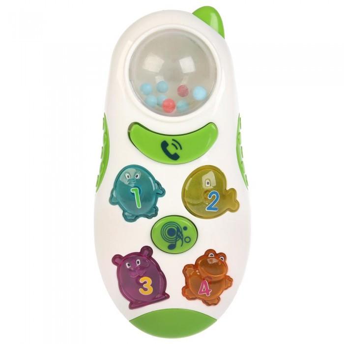 Купить Развивающие игрушки, Развивающая игрушка Умка Телефон-погремушка Учим животных со стихами и песнями